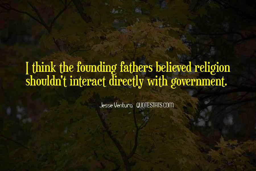 Quotes About Religion From The Founding Fathers #1757725