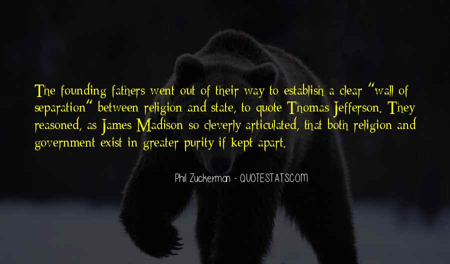Quotes About Religion From The Founding Fathers #183531