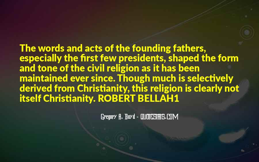 Quotes About Religion From The Founding Fathers #260497