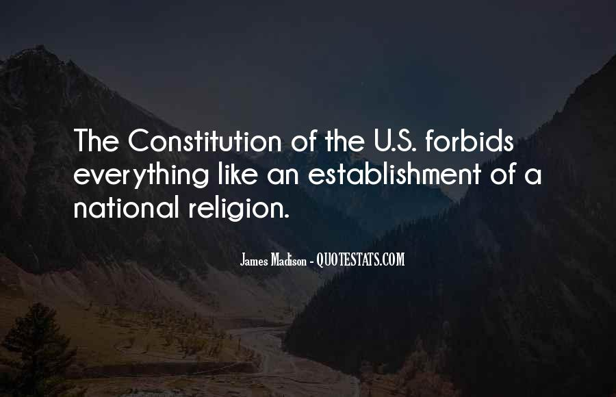 Quotes About Religion From The Founding Fathers #823406