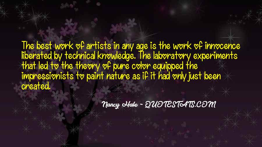 Quotes About Color Artists #1132748