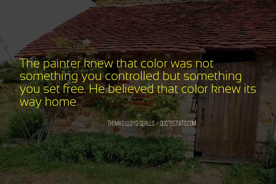 Quotes About Color Artists #1357638