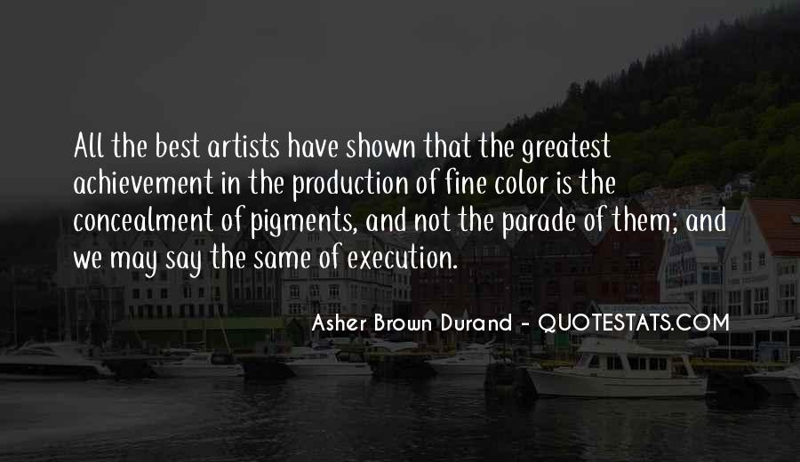 Quotes About Color Artists #1502635