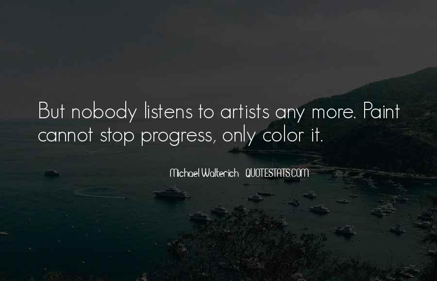 Quotes About Color Artists #1669953