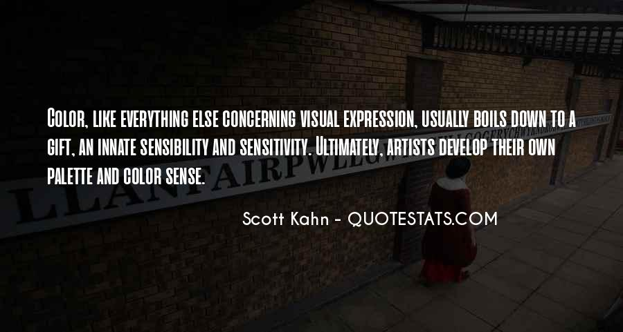 Quotes About Color Artists #1691345
