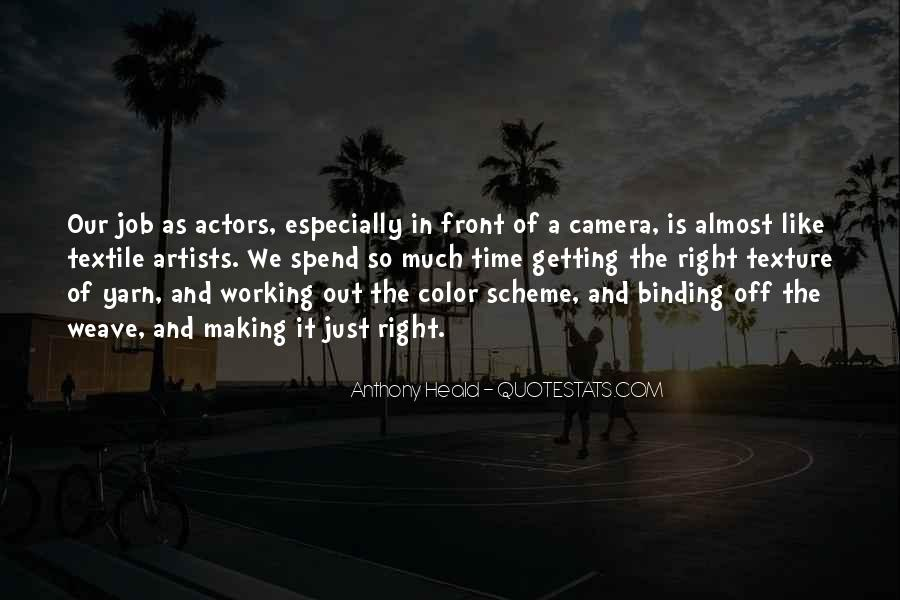Quotes About Color Artists #235777