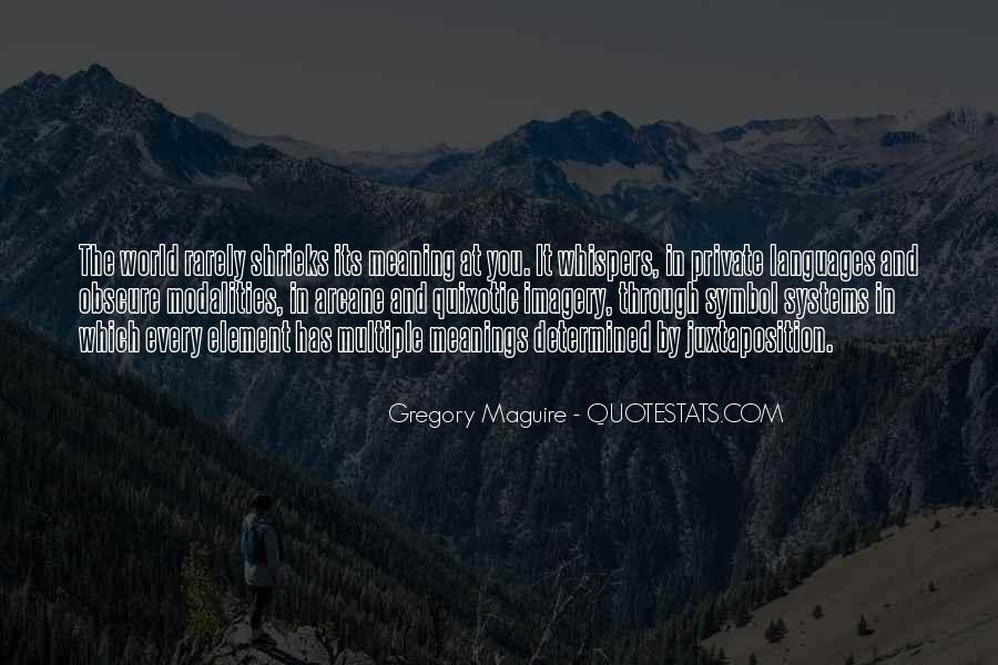 Quotes About Quixotic #1210423