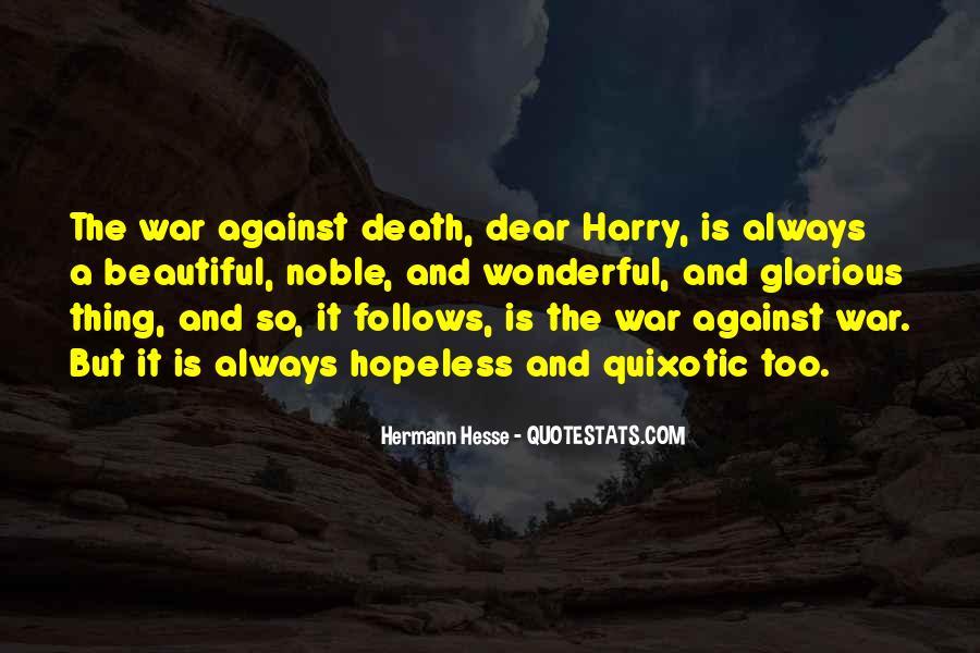 Quotes About Quixotic #1490874