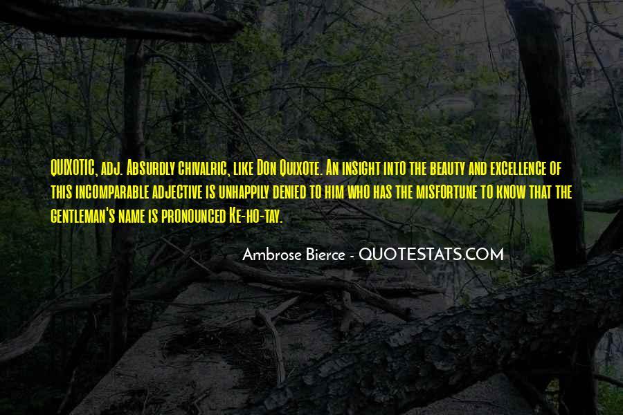 Quotes About Quixotic #1510402