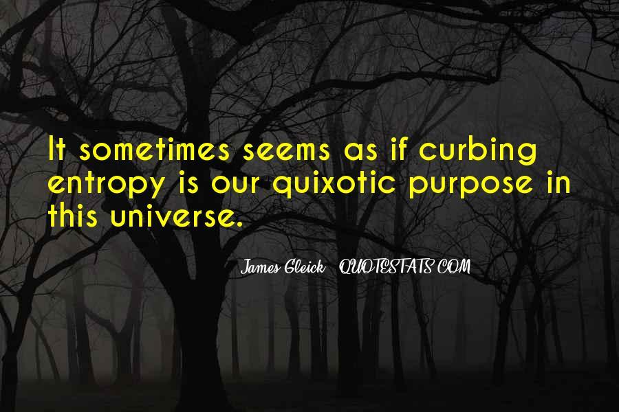 Quotes About Quixotic #82144