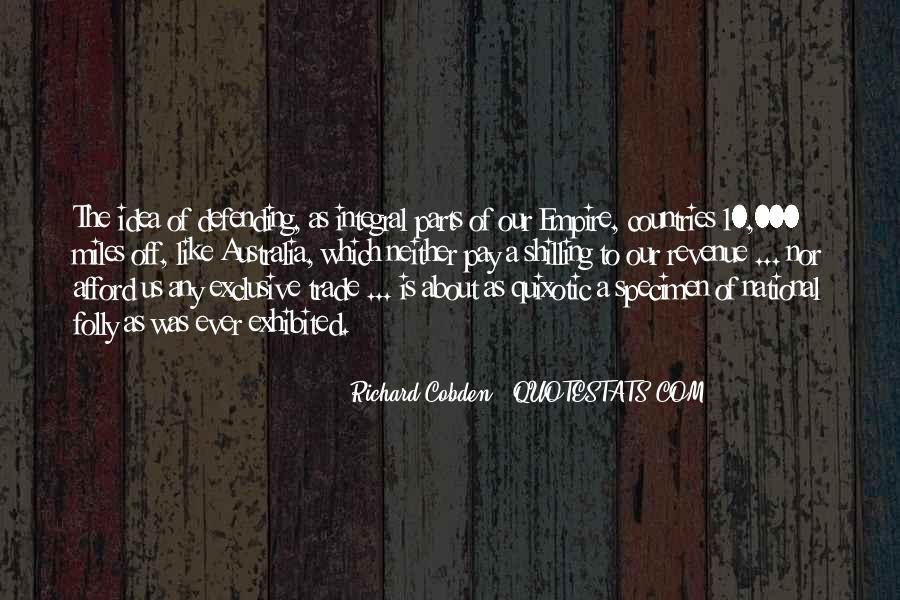 Quotes About Quixotic #941057