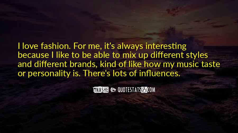 Quotes About Fashion Styles #1734972
