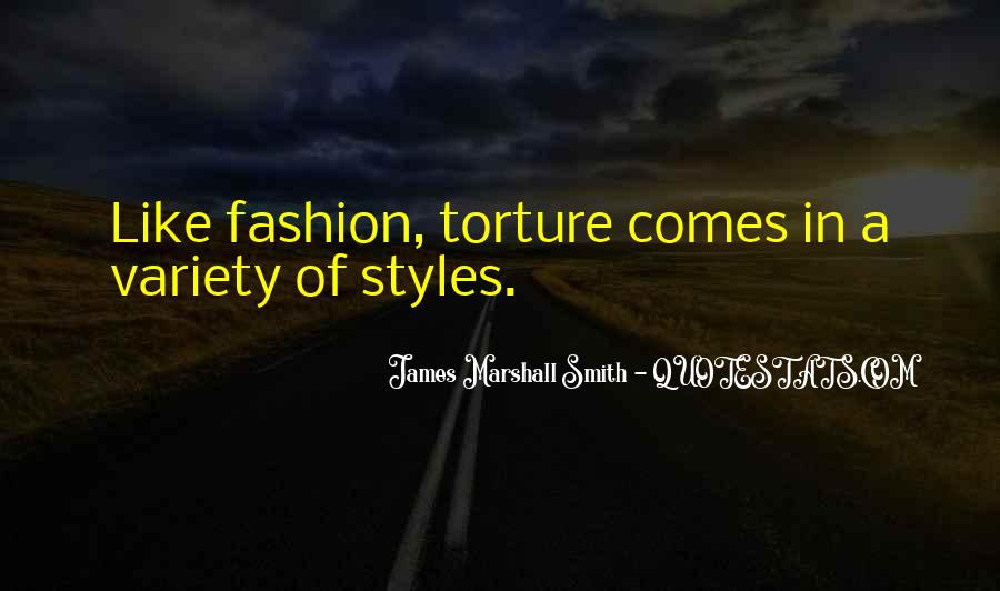 Quotes About Fashion Styles #1875222