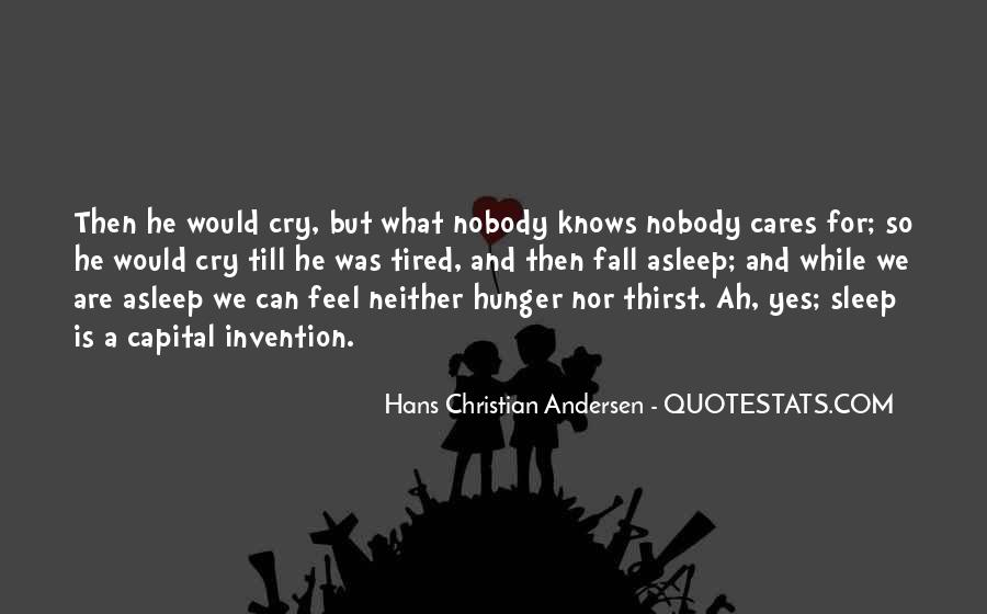 Quotes About Hunger And Thirst #1068301
