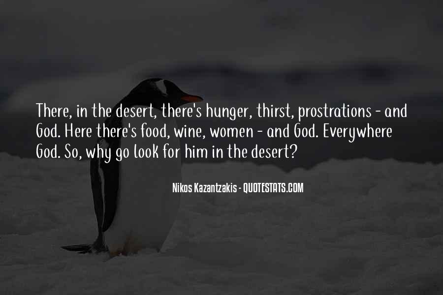 Quotes About Hunger And Thirst #1190813