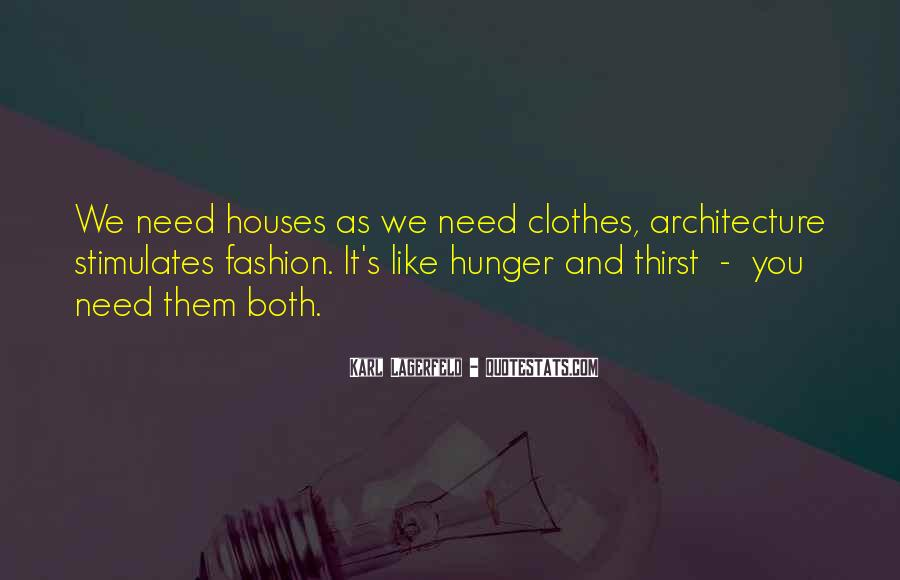 Quotes About Hunger And Thirst #1302158