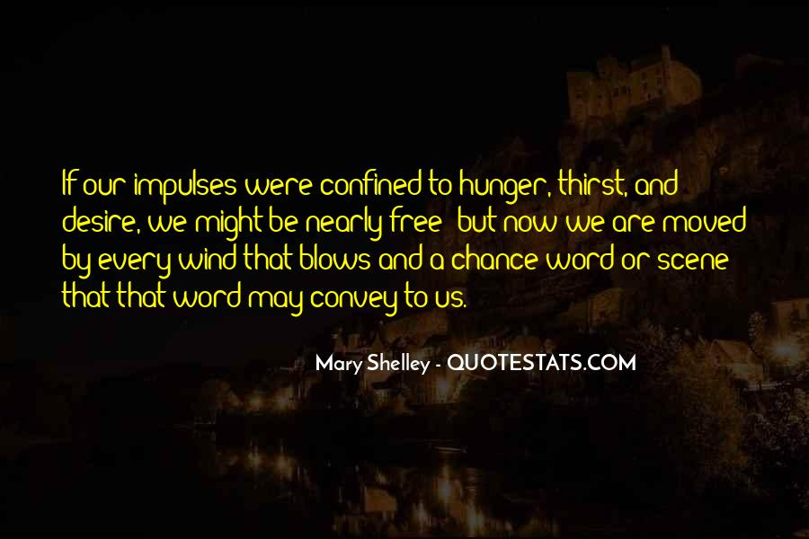 Quotes About Hunger And Thirst #1444276