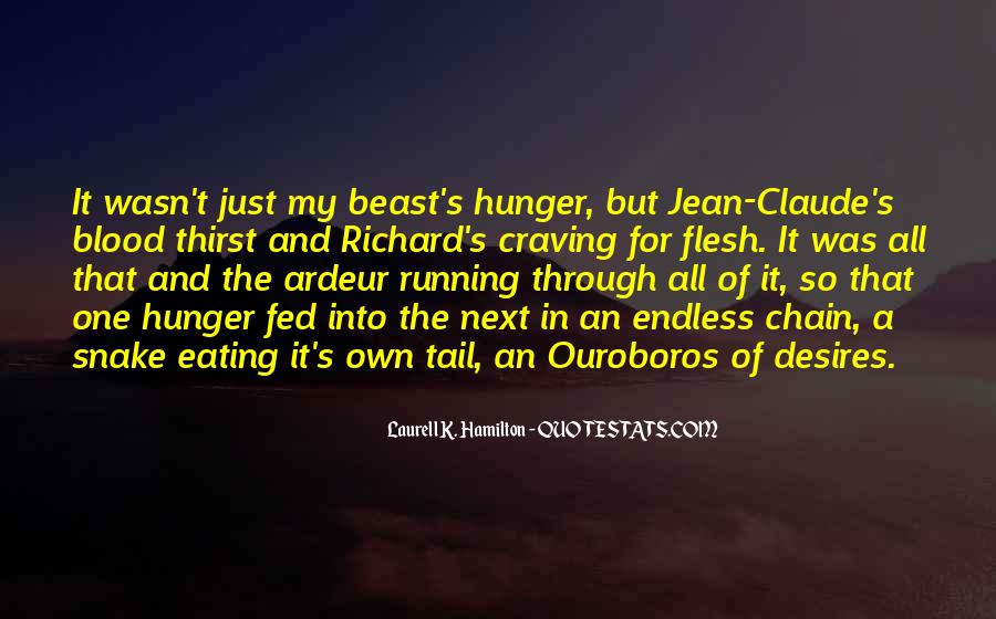 Quotes About Hunger And Thirst #1658012