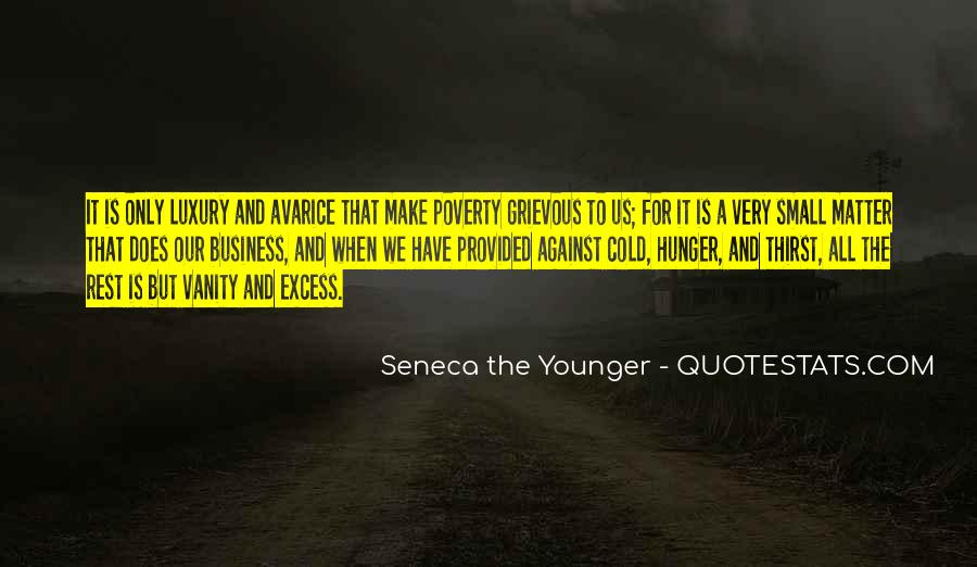Quotes About Hunger And Thirst #169856
