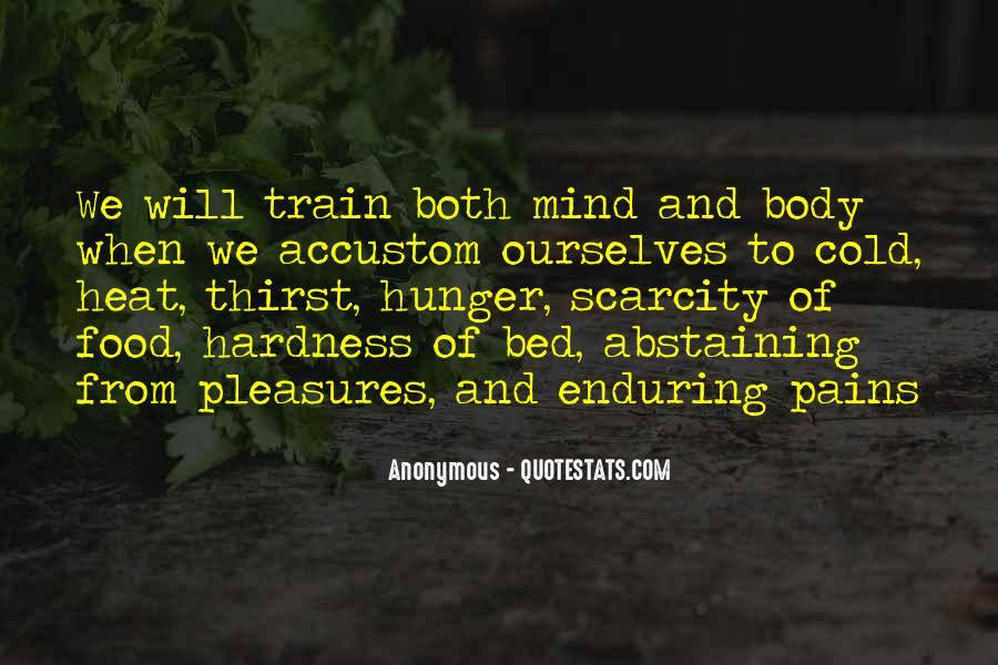 Quotes About Hunger And Thirst #1709620