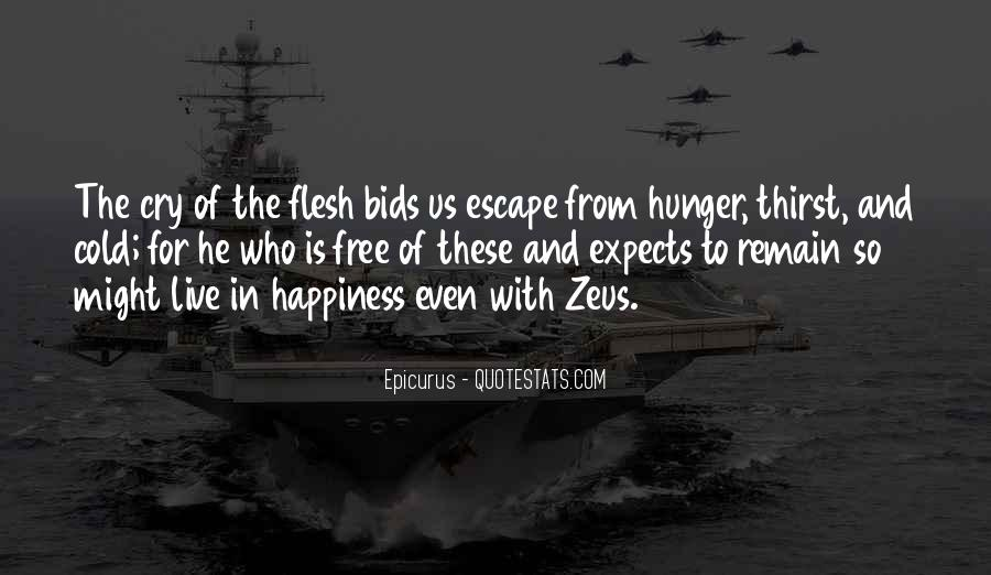 Quotes About Hunger And Thirst #1812151