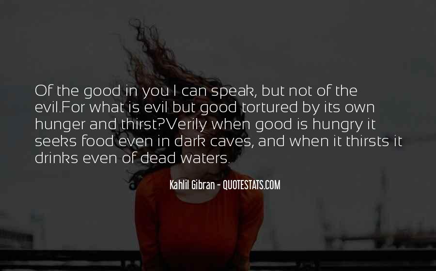 Quotes About Hunger And Thirst #427805