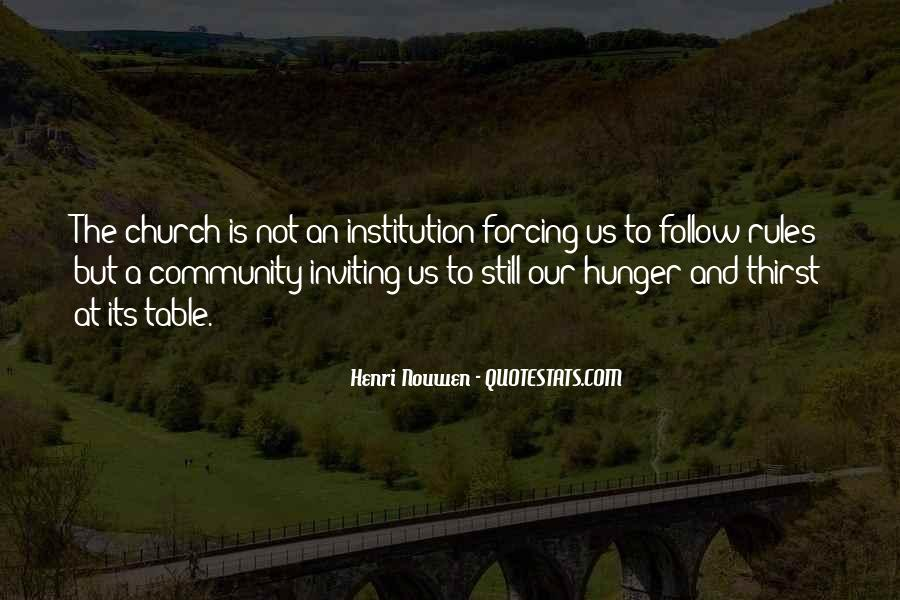 Quotes About Hunger And Thirst #48495