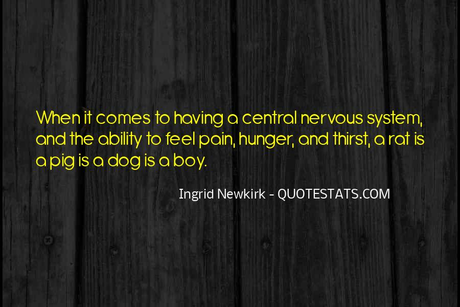 Quotes About Hunger And Thirst #548266