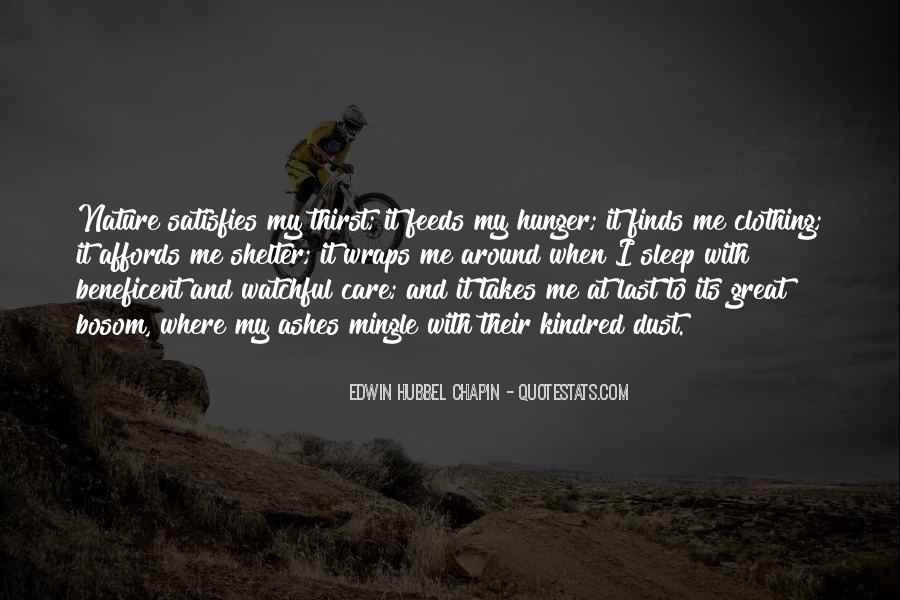 Quotes About Hunger And Thirst #57211