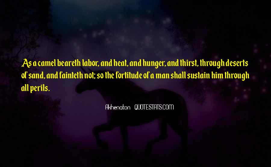 Quotes About Hunger And Thirst #60068