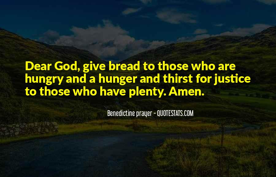 Quotes About Hunger And Thirst #671002