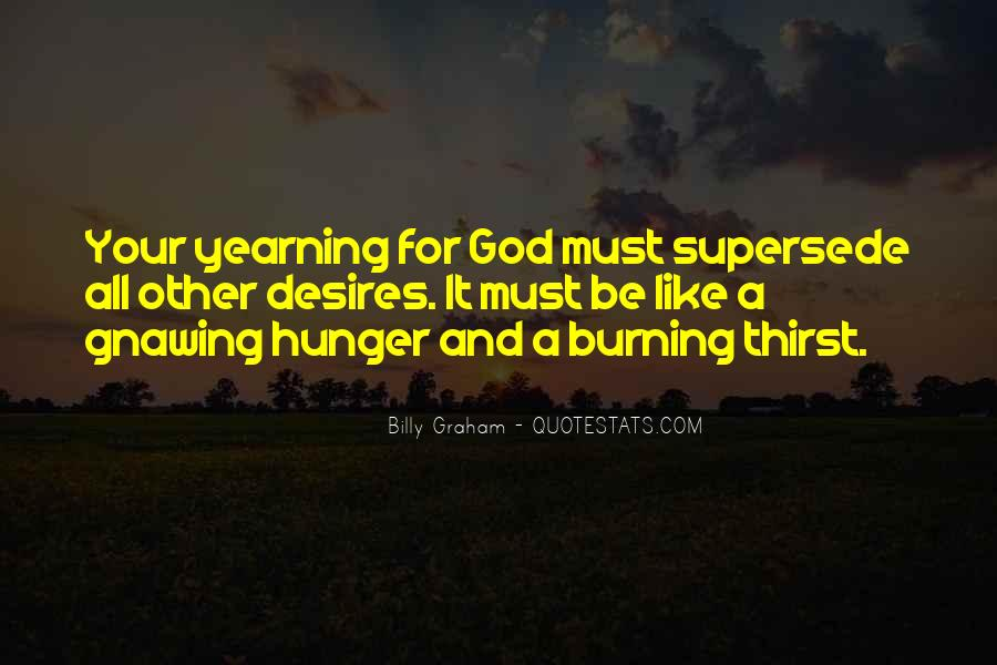 Quotes About Hunger And Thirst #730640