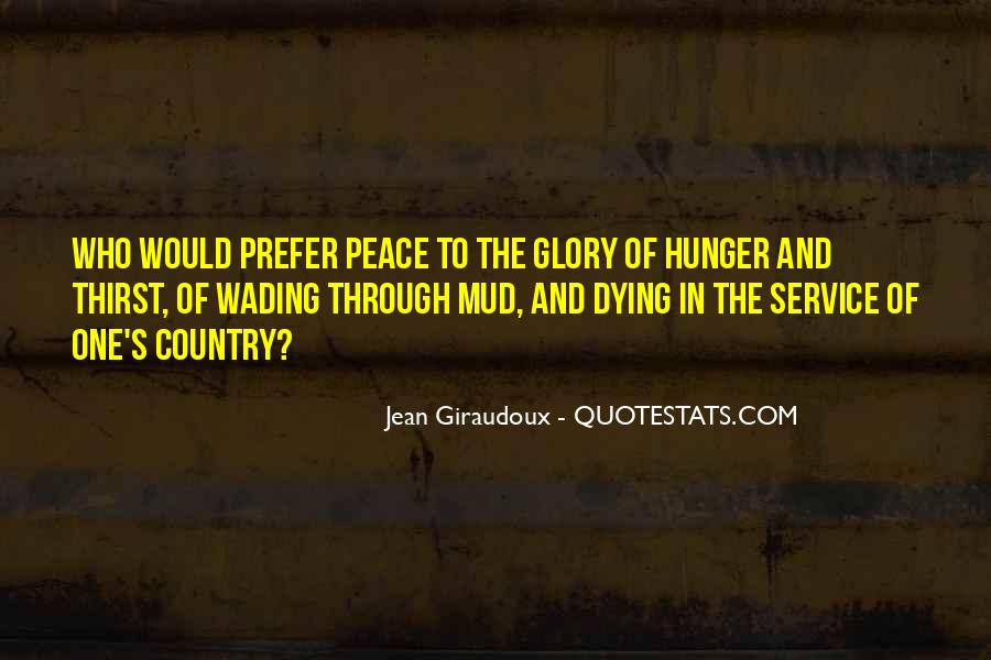 Quotes About Hunger And Thirst #795074