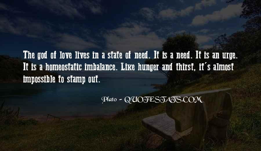 Quotes About Hunger And Thirst #795737