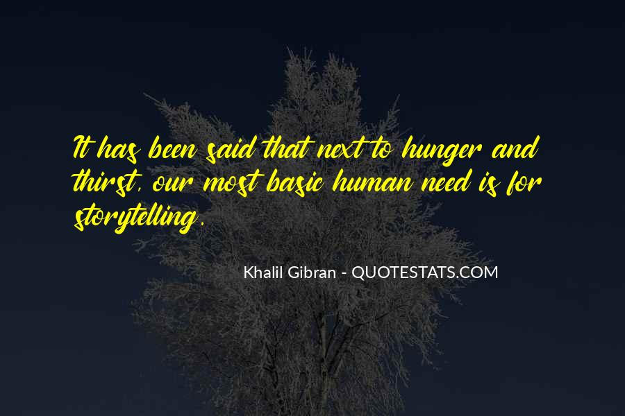 Quotes About Hunger And Thirst #852016