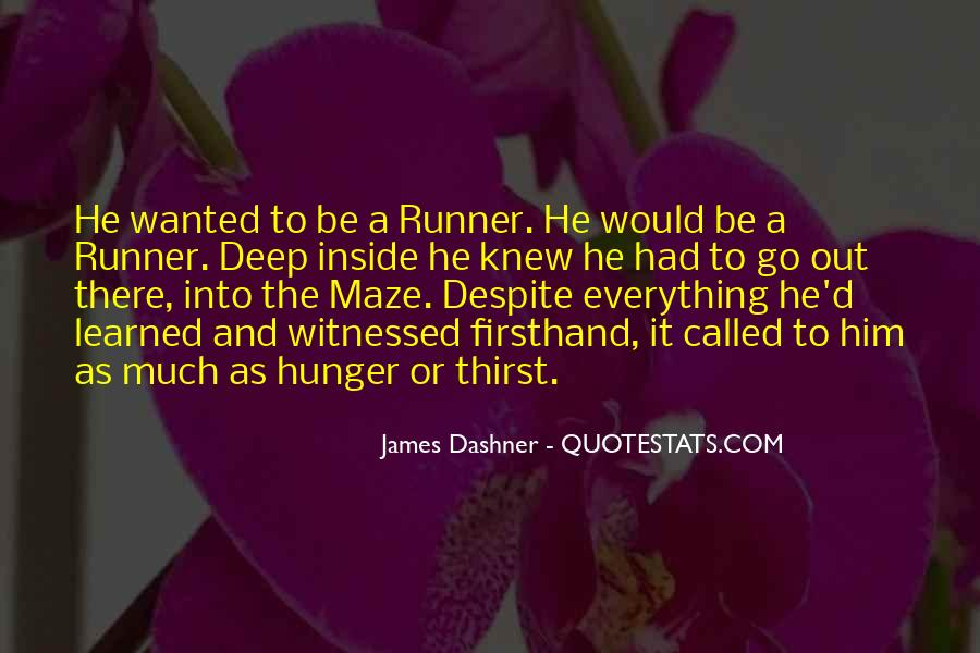 Quotes About Hunger And Thirst #965574