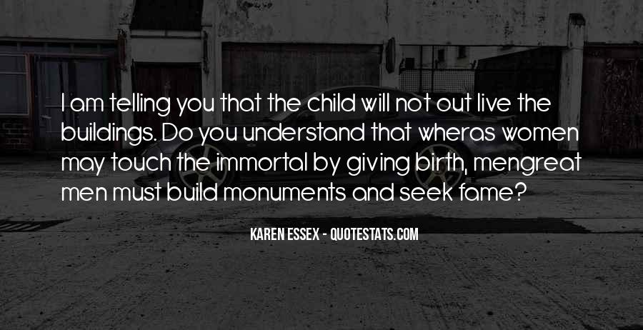 Quotes About Giving Birth #528878