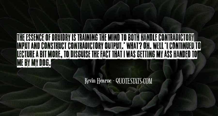 Quotes About Training The Mind #764510