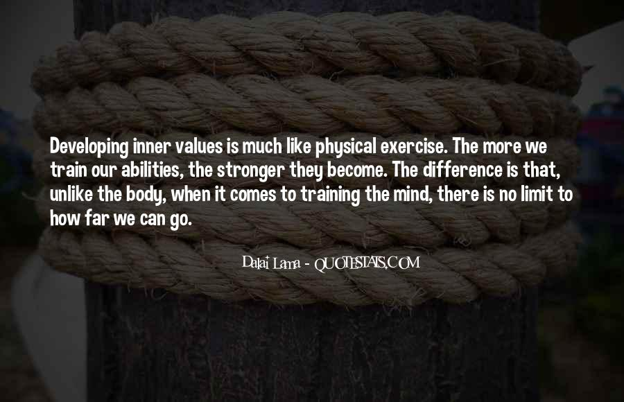 Quotes About Training The Mind #993980