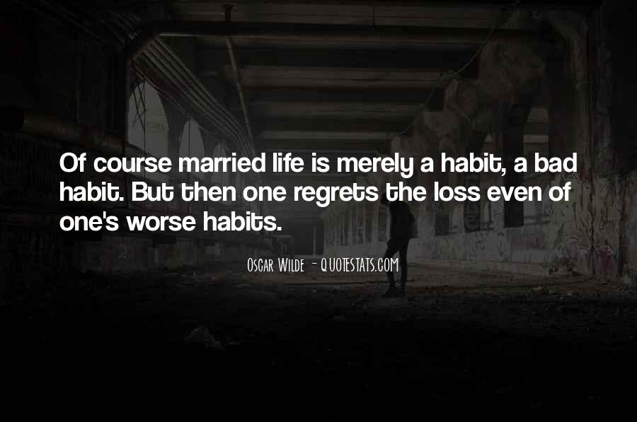 Quotes About Regrets In Marriage #1433507