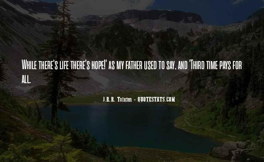 Quotes About Hope Tolkien #1008381