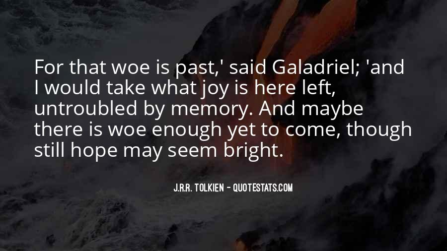 Quotes About Hope Tolkien #1239269