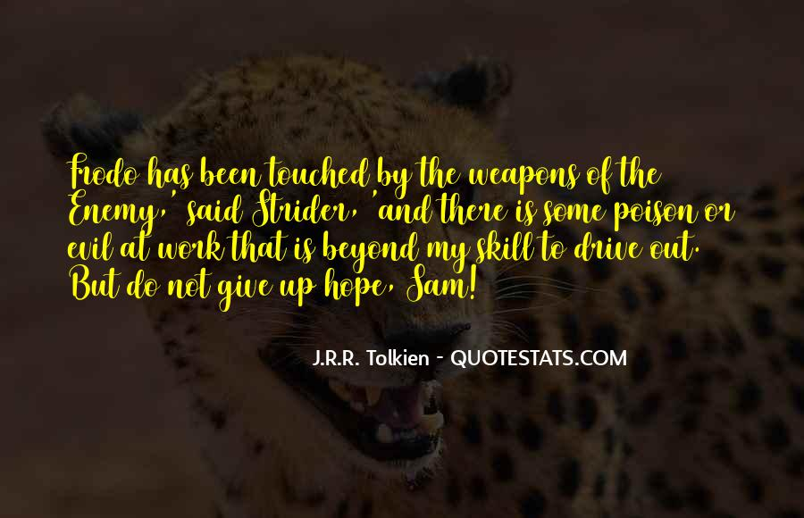 Quotes About Hope Tolkien #1569144