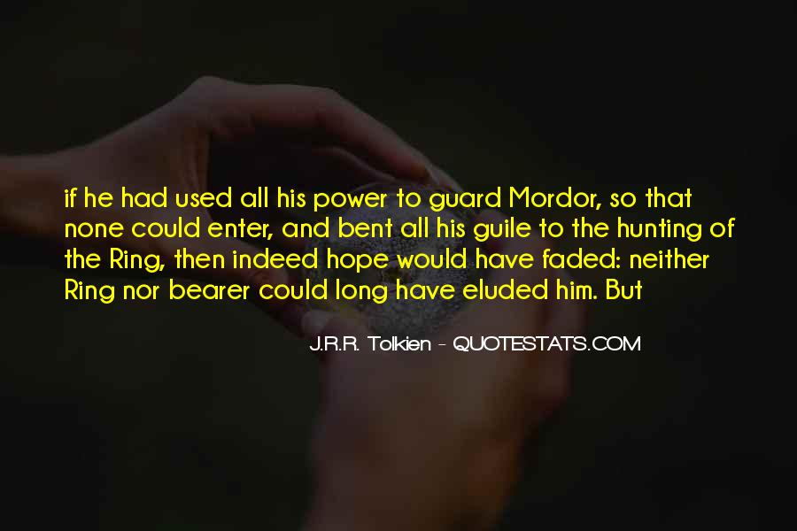 Quotes About Hope Tolkien #1570594