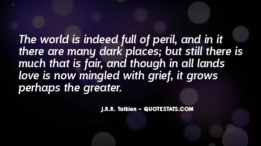 Quotes About Hope Tolkien #1664857