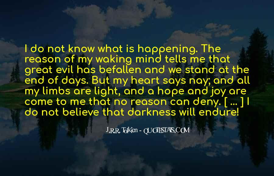 Quotes About Hope Tolkien #1787334