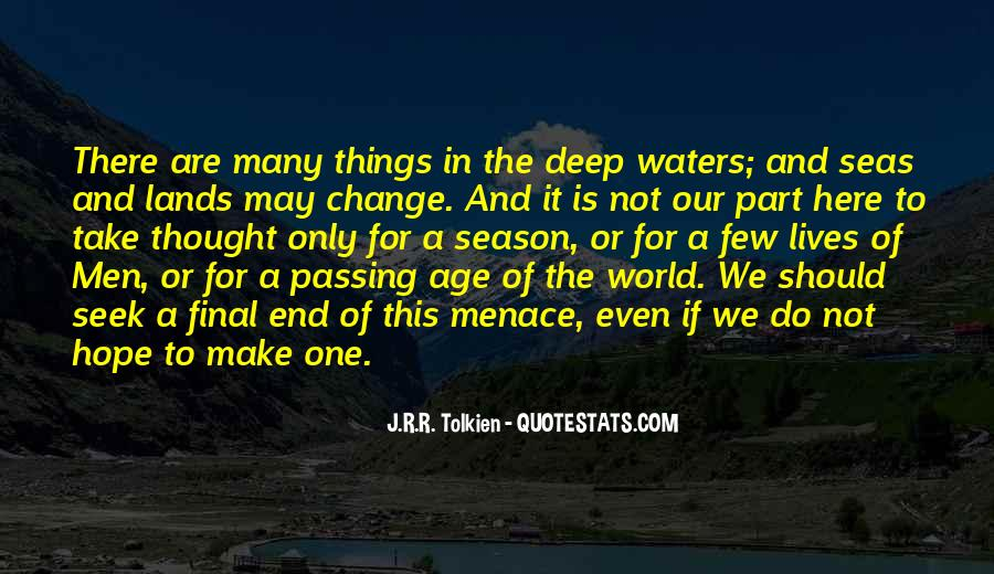 Quotes About Hope Tolkien #1848868