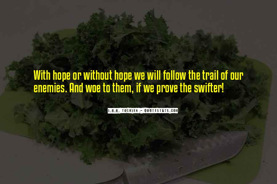 Quotes About Hope Tolkien #371742