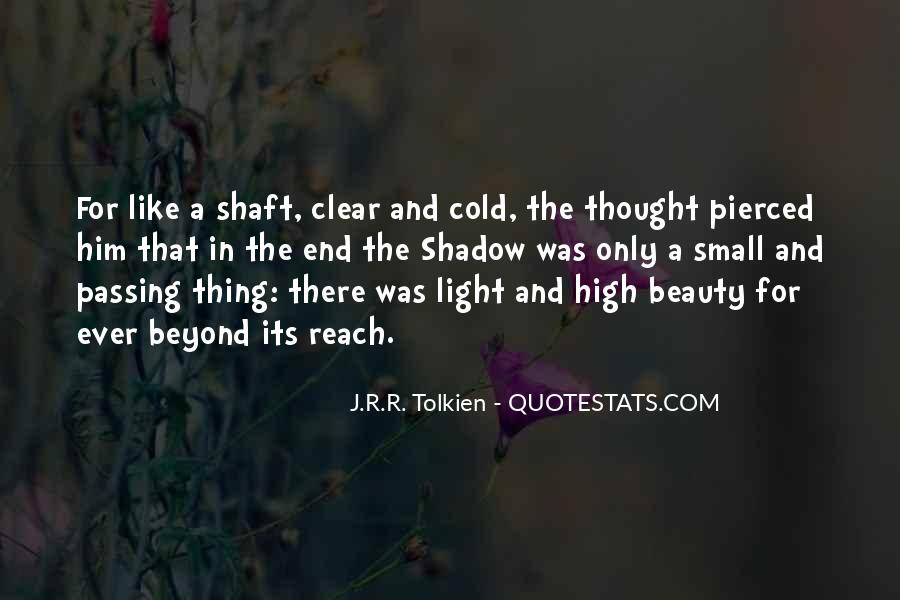 Quotes About Hope Tolkien #388609