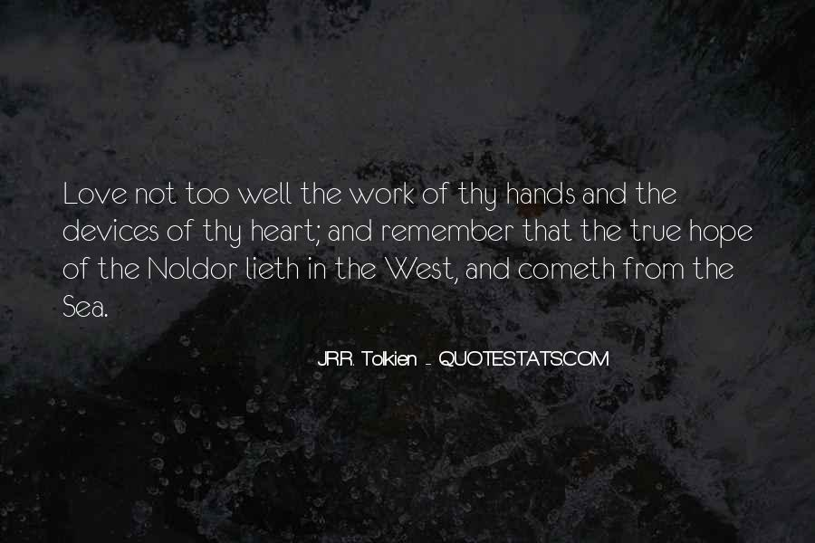 Quotes About Hope Tolkien #619749